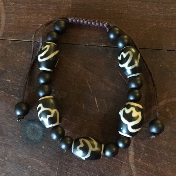 Jewelry - Unisex Prayer Stone Bead Bracelet
